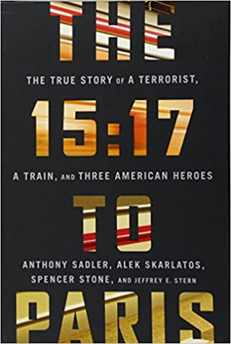 amazon the 15 17 to paris the true story of a terrorist a train