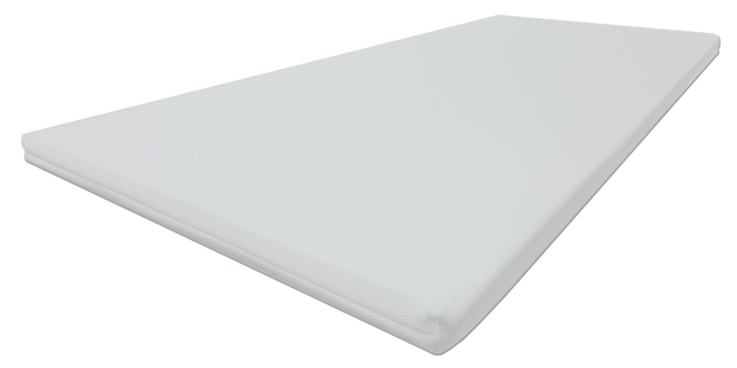 Dibapur® Matratzenverstärkungs-Topper Auflage (3D AIR 180x200) 3D Air Fresh - Made in Germany