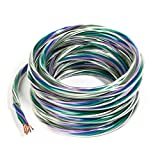 Carwires SW9000-20 - 18-AWG 9-Conductor OEM Car Speaker Wire (20 ft.)