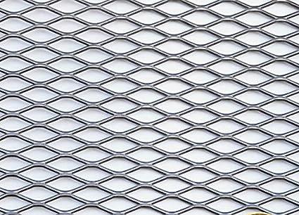 Chapa de metal desplegada de acero inoxidable, 1000 x 1000 x ...