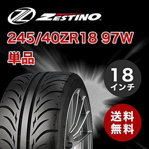 245/40ZR18 ゼスティノ グレッジ 07RS 単品 245/40-18 新品タイヤ ZESTINO Gredge B077MVFRJG