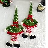 New Polka Dot Wine Bottle Cover Bags For Christmas Decoration