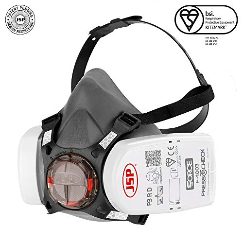 P3 Mask Presstochecktm Half Forcetm8 Respirator With Complete