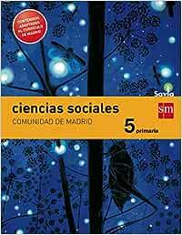 Ciencias sociales. 5 Primaria. Savia. Madrid LOMCE