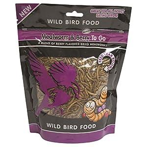 Unipet Usa Wb157 Mealworm And Berry To Go Wild Bird Food, 3.52 Oz 92