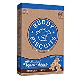 Cheap Cloud Star Itty Bitty Buddy Biscuits Dog Treats, 8oz Box, Bacon & Cheese (Packaging may vary)