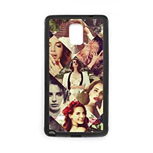 T-TGL(RQ) Samsung Galaxy Note 4 Custom Phone Case Lana Del Rey with Hard Shell Protection