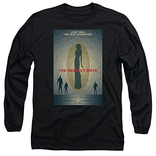 Star Trek: The Next Generation The Perfect Mate Juan Ortiz Poster Unisex Adult Long-Sleeve T Shirt For Men and Women