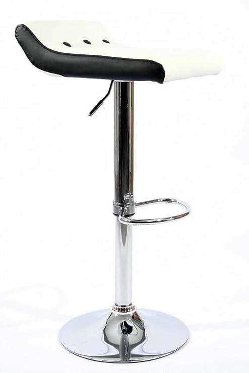 Qubeat 2X Taburete de Bar Color Madera Madera Giratorio Ajustable en Altura