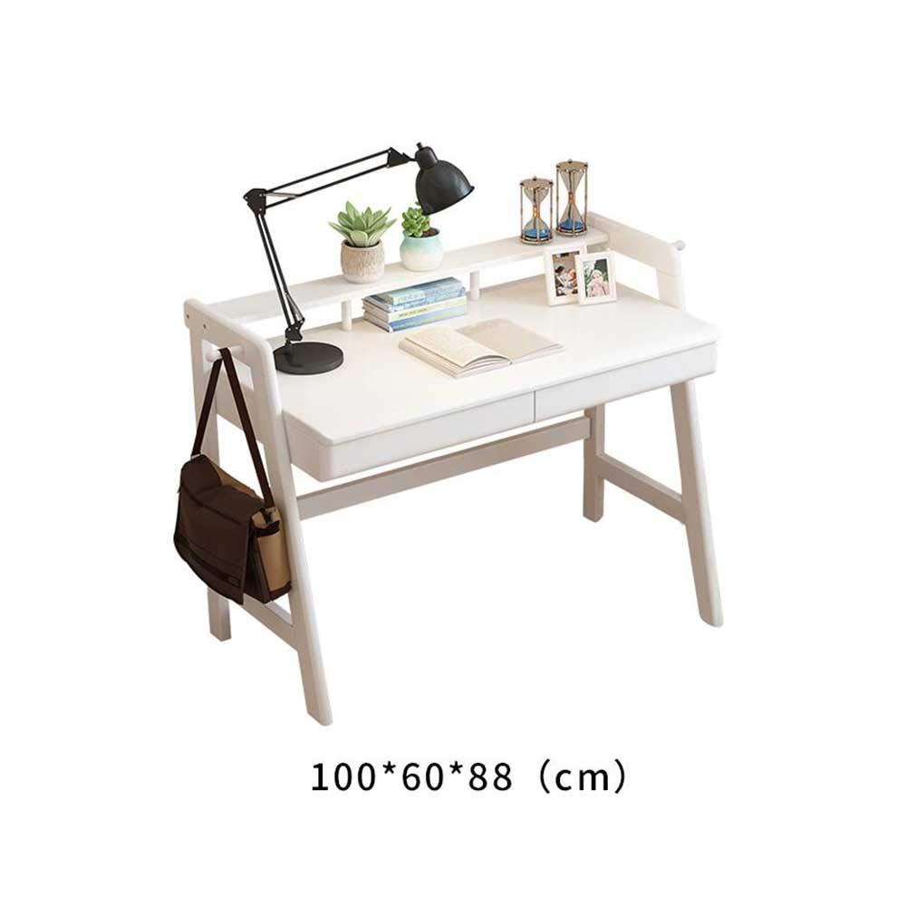 XUERUI テーブルチェア 机 シンプル 無垢材 家庭 学生 ライティングデスク ノルディック コンピューターデスク ライティングデスク 本 机 オフィス 机 (色 : C, サイズ さいず : 100*60*88cm) 100*60*88cm C B07MY48WYH