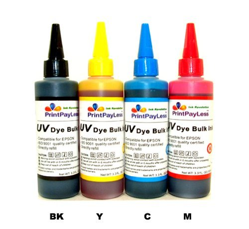 Uni Kit Magenta Toner Refill (Ink Refill Set for Cis and Refillable Cartridges Using Epson 68, 69 Ink : Workforce 40, 310, 500, 600, 610)