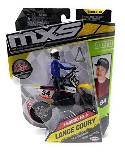 MXS Lance Coury SFX Bike & Rider Set Series 10 by MXS