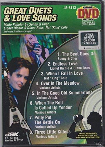 Great Duets and Love Songs Karaoke DVD ()