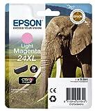 Epson C13T24364012 24 X-Large Series Elephant Ink Cartridge, Light Magenta, Genuine