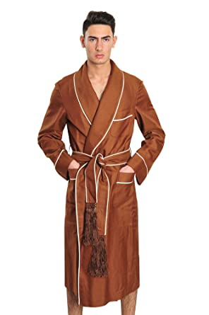 Tom Ford Robe Men Brown Cotton Plain  Amazon.co.uk  Clothing 5c5a0896deae