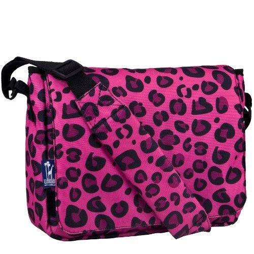 Wildkin Pink Leopard Kickstart Messenger Bag by Wildkin [並行輸入品]   B00S5V1Q2M