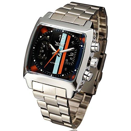 """Jaragar: Reloj """"homage"""" (homenaje o casi-copia) de un TAG Heuer Monaco"""