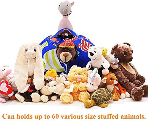 38 Stuffed Animals Bean Bag Extra Large Chair Cover