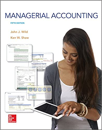 Managerial accounting john j wild ken shaw accounting professor managerial accounting 5th edition by john j wild fandeluxe Images