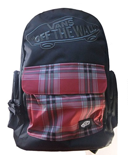 Vans Off The Wall Underhill 2 Backpack-Black/Red