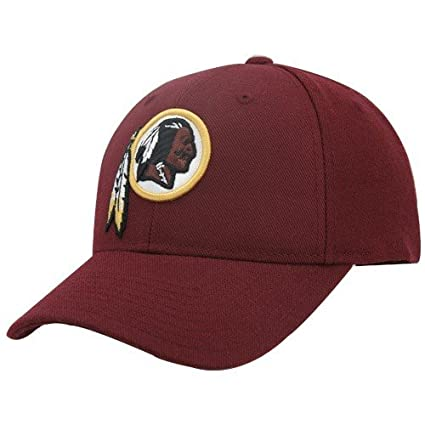 Amazon.com   NFL Washington Redskins Structured Adjustable Hat ... 9bd8fb7baaca