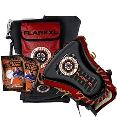 NO Errors WebGem Baseball and Softball Glove Form - The Flare XL Outfield and Infield Mitt Forming System