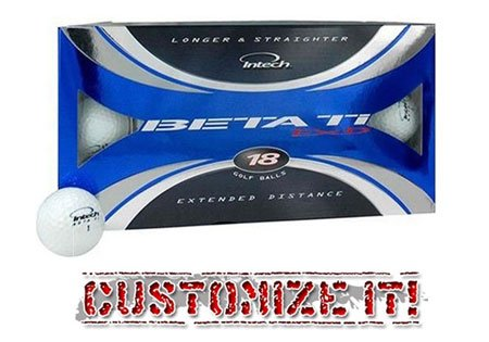Intech Beta Ti EXD Men's Golf Balls – 18 Pack, Outdoor Stuffs