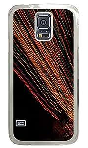Samsung Galaxy S5 Patterns Light Lapse PC Custom Samsung Galaxy S5 Case Cover Transparent