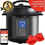 Mealthy MultiPot 9-in-1 Programmable Electric Pressure Cooker with Stainless Steel Pot