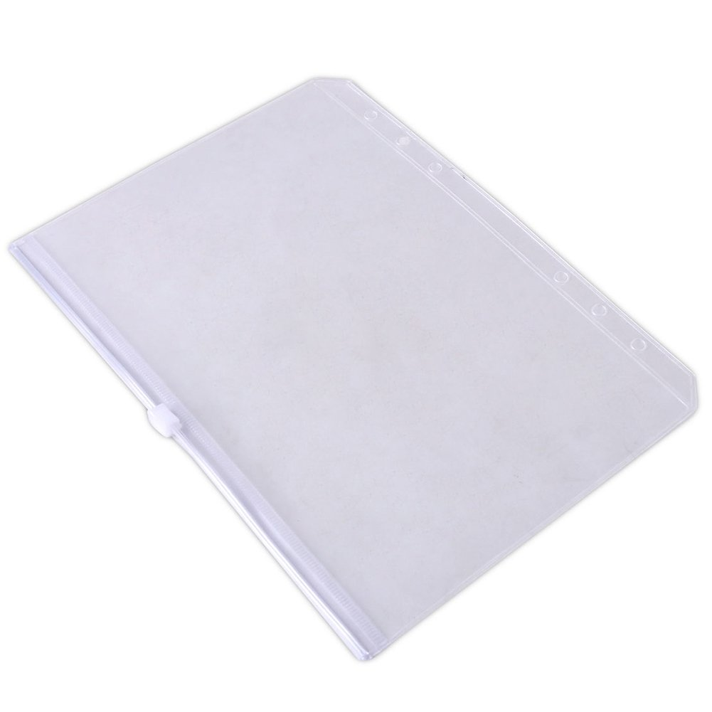 Kalaokei A5/A6/A7 blocco busta documento file bag cerniera trasparente tasca organizer A7