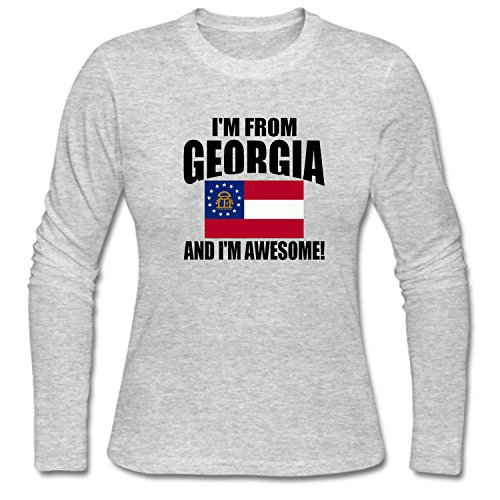 Women's I'm from Georgia and I'm Awesome (Georgia Relaxed Fit Jean)