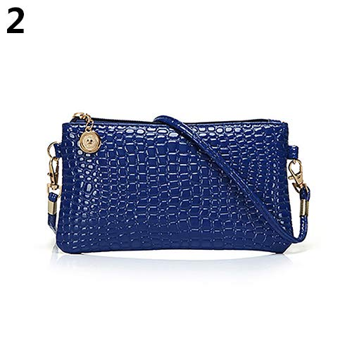Women Faux Leather Zipper Clutch Mini Cross Body Shoulder Bag Phone Bag by Shengyuze (Image #6)