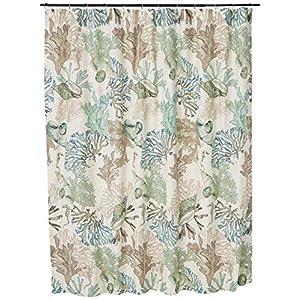 515r9hik4bL._SS300_ Beach Shower Curtains & Nautical Shower Curtains