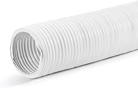 Naber ST-PXO 4023022 - Tubo flexible (longitud: 3 m, canal redondo 150), color blanco: Amazon.es: Bricolaje y herramientas