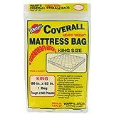 Warp Brothers CB-86 Banana Bags Mattress Bag, King Size, 86-Inch by 92-Inch