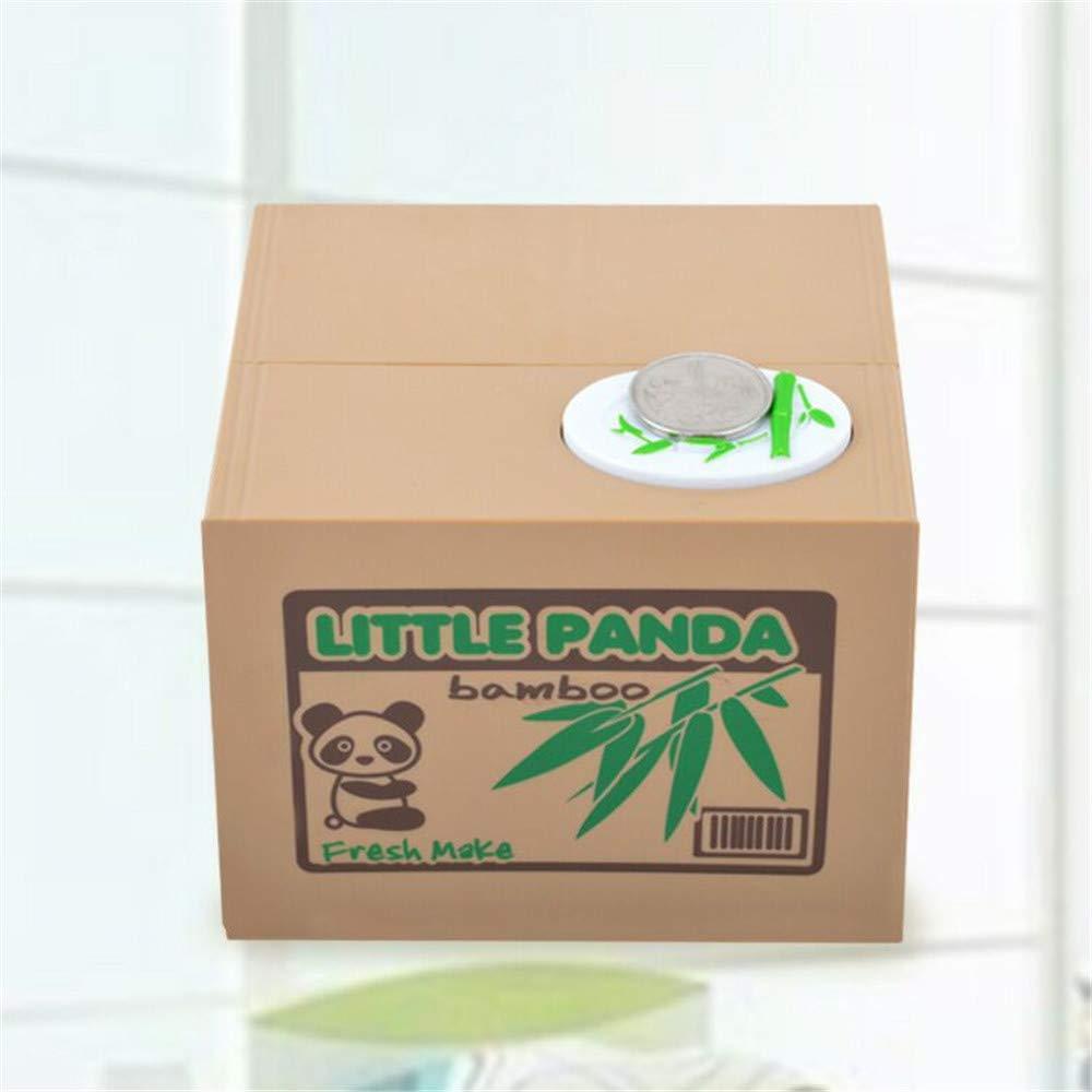 Amazon.com: LtrottedJ Stealing Coins Cents Penny Buck Saving Money Box Pot Case Piggy Bank: Toys & Games