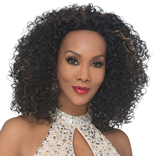 Vivica A. Fox AKRON-V New Futura Fiber, Deep Lace Front Wig in Color - 10 Akron Style