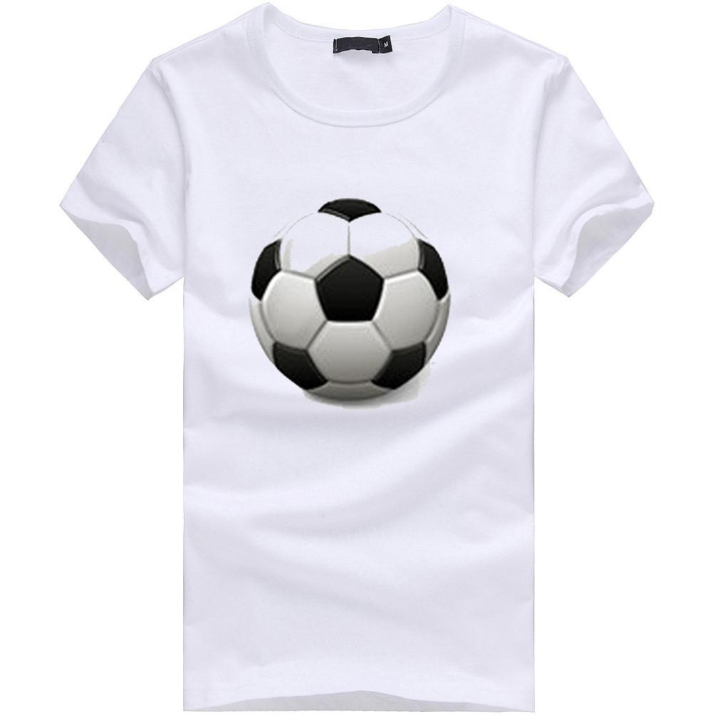 Camisetas, ❤ ⚽️Ba Zha Hei Camiseta Hombres Para Camiseta Manga Corta Camiseta Copa del Mundo Camiseta con Estampado de Fútbol Blusa 2018 Casual Sudadera ...