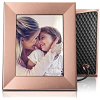 Nixplay Iris 8 Wi-Fi Cloud Frame (W08E - Peach Copper)