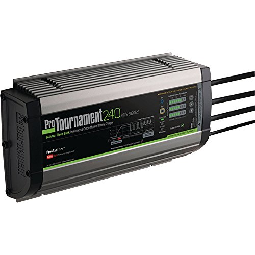 ProMariner Tournament 24 Amp 12/24V Elite Battery Charger - Elite Motor