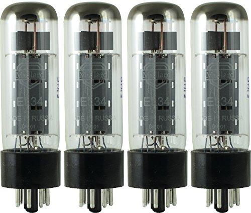 Version Quad (Mullard Reissue EL34 Power Vacuum Tube; Matched)