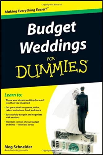 Worksheet Budgeting For Dummies Worksheet amazon com budget weddings for dummies 9780470502099 meg 1st edition