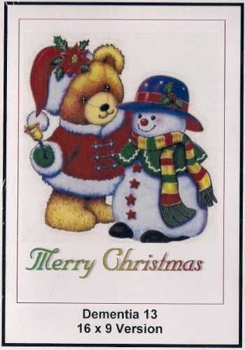Dementia 13: 16x9 Widescreen TV: Creeting Card: Merry Christmas by William Campbell