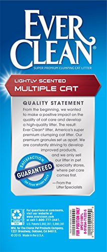 091854712225 - Ever Clean Multiple Cat Litter, 25 Pounds carousel main 3