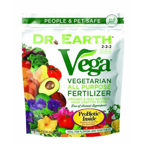 Hot Dr. Earth 757P Vega All Purpose Vegetarian Fertilizer, 4-Pound for cheap