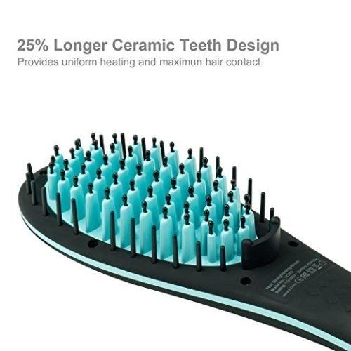 Amazon.com: Cepillo Alisador Electrico Secado Natural Sepillo De Desenredar: Health & Personal Care
