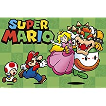 Super Mario Chase Video Gaming Poster 17x11