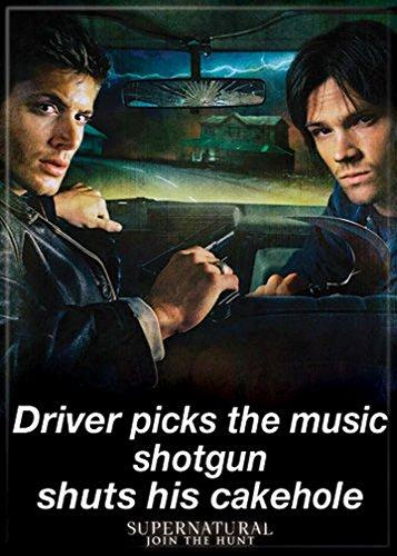 Supernatural Party Supplies (Ata-Boy Supernatural 'Driver Picks The Music' 2.5