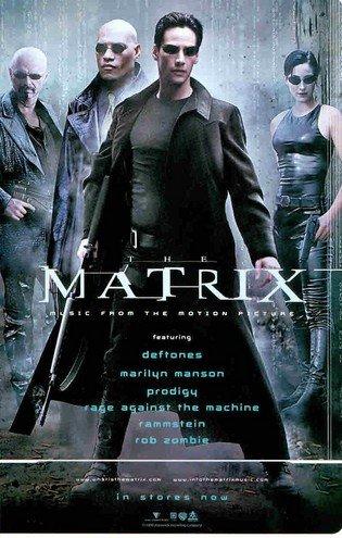 The Matrix: Music From: Neo, Trinity, Morpheus, Cyper: Great Original Photo Print Ad!]()