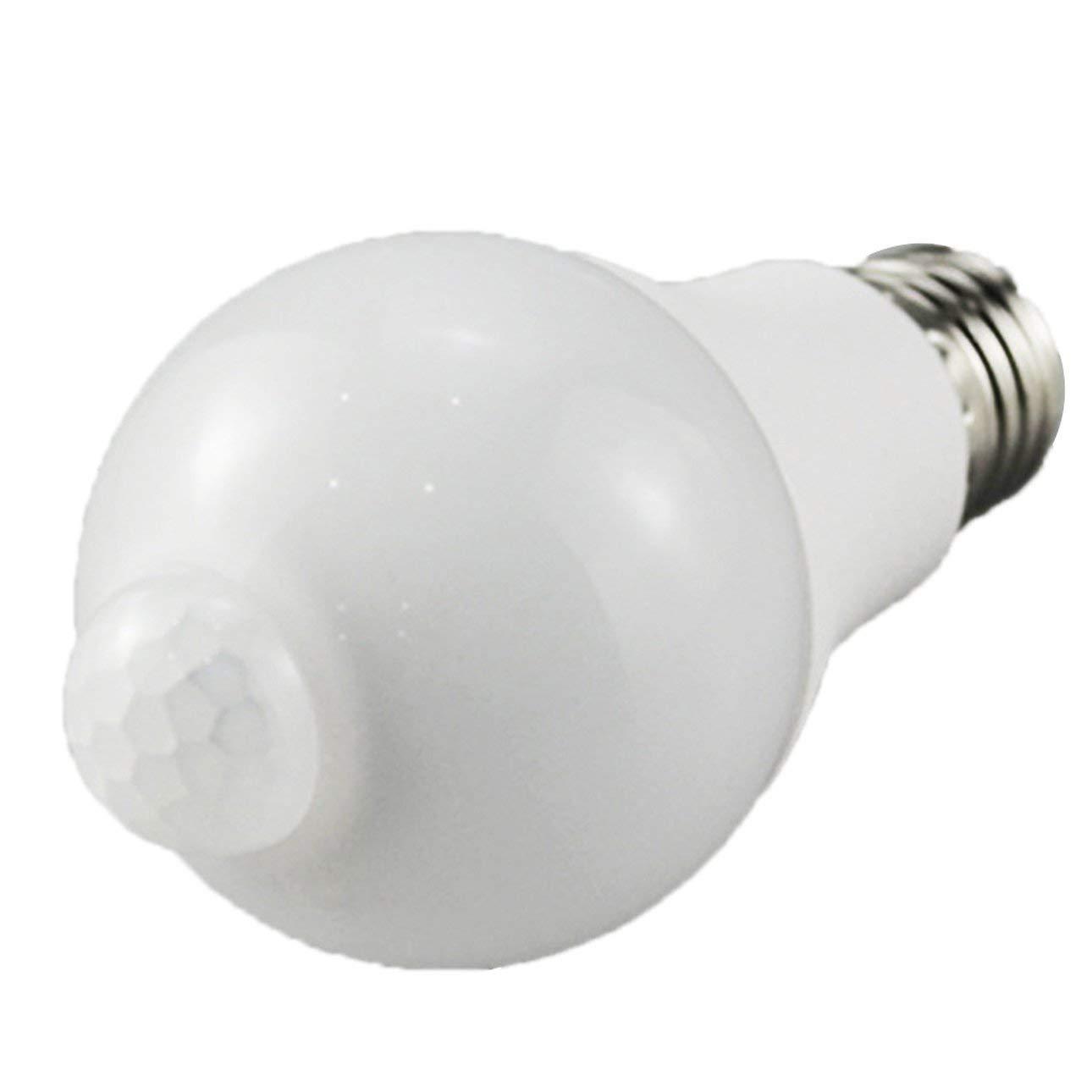 Liobaba Human Body Induction Bulb Infrared Sensor Led Bulb Lamp Motion Sensing Light Sensor E27 Screw
